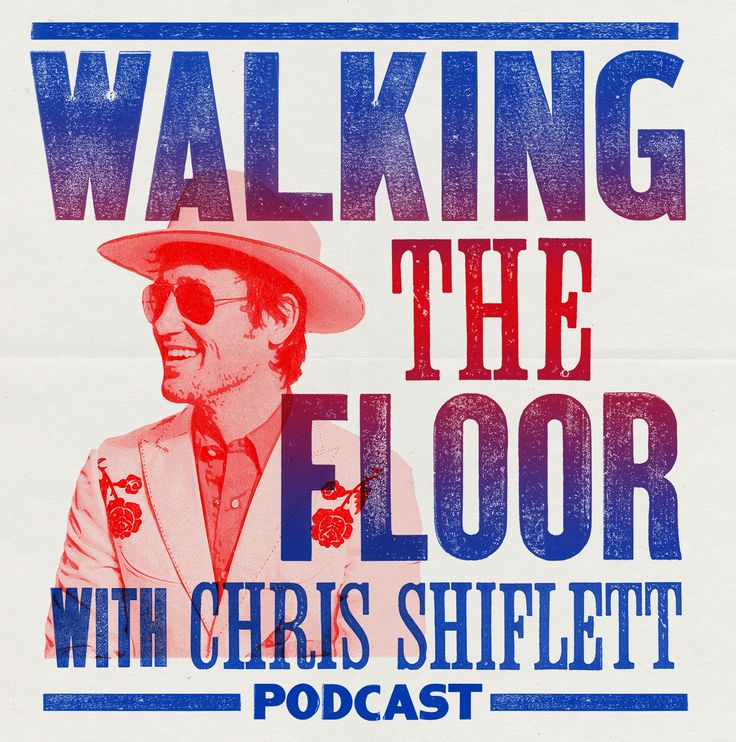 Podcast preview image of Walking the Floor showing a picture of Chris Shiflett
